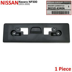 For-Nissan-Navara-NP300-D23-2WD-4WD-2015-20-Front-Lisence-Plastic-Bumper