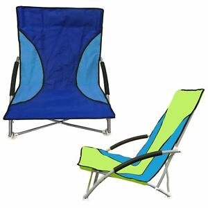 Image Is Loading 2 X Nalu Folding Beach Camping Chair Foldable