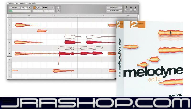 Celemony Melodyne 4.2 Editor Upgrade from Essential   eDelivery JRR Shop