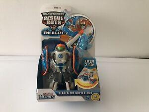 Transformers Rescue Bots dynamise les lames Le Copter-bot New 653569810735