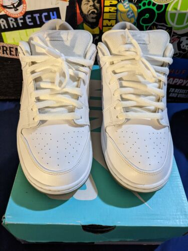 Nike Dunk Low Pro SB Ice White Low 11.5 2013 VNDS