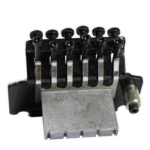 1 Set Black Floyd Rose Bridge Style Double Tremolo System Electric Guitar Parts