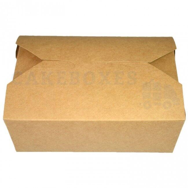 Étanche Kraft jetables Contenants De choisir Nourriture choisir De votre taille 330808