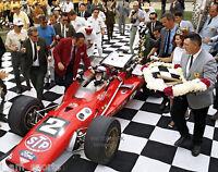 MARIO ANDRETTI 1969 INDIANAPOLIS INDY 500 WINNER 8x10 PHOTO