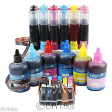 Continuous Ink System and Refill Bottles for Epson Expression XP-950 XP-850