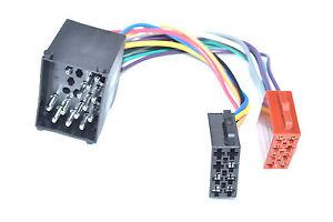 ISO-DIN-Kabel-passend-fuer-840-850-1990-2001-Rundpin-Kabelbaum-Radioadapter