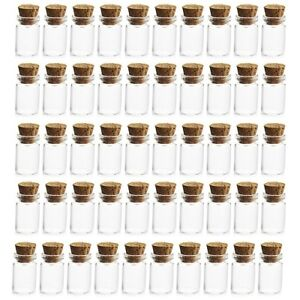 Tiny-1ml-Glass-Bottles-with-Cork-Wood-Stopper-Vials-Mini-Jar-Bottle-Pendant-UK