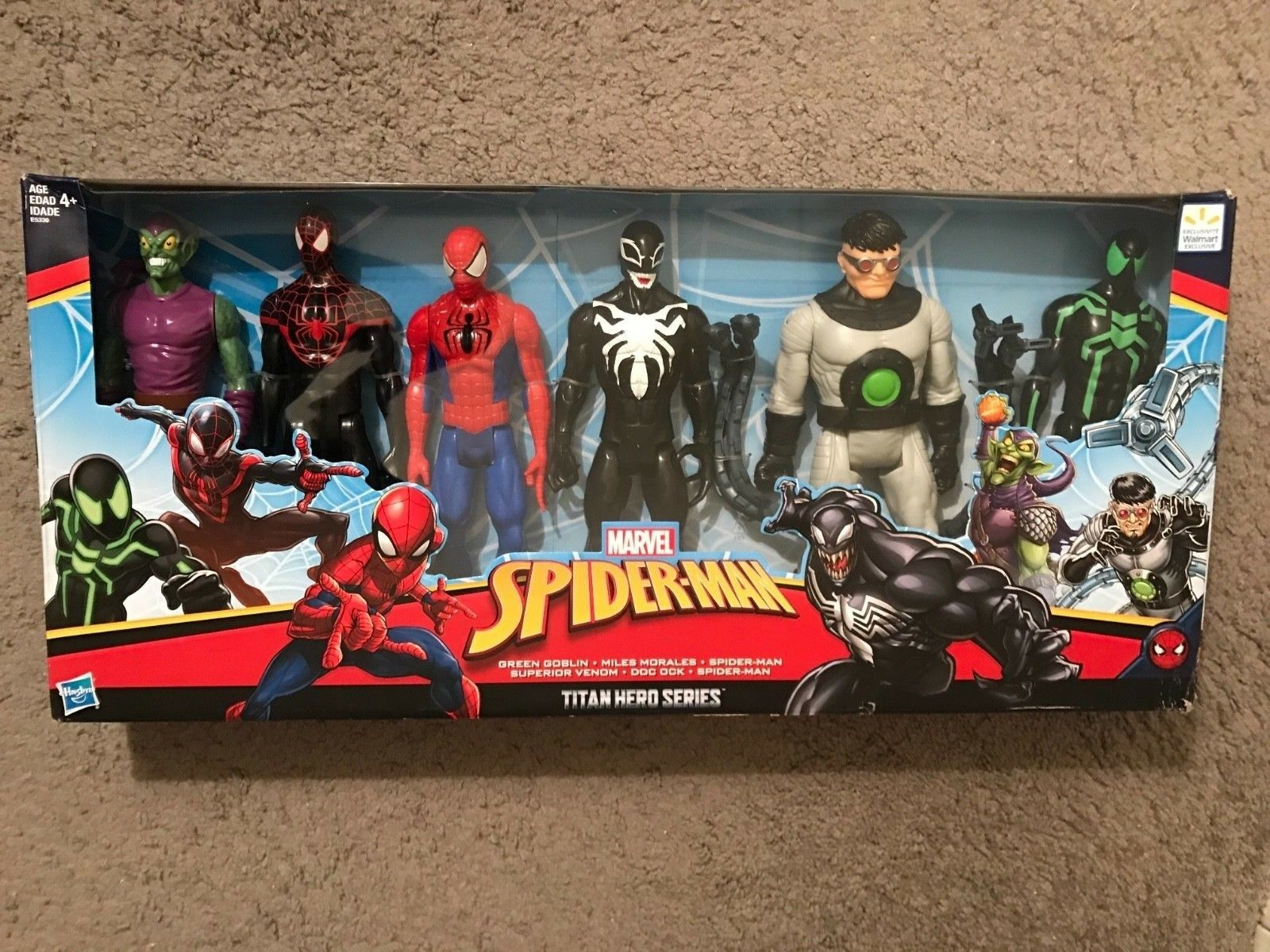 TOY  MARVEL Spiderman villains doll collection. Free shipping