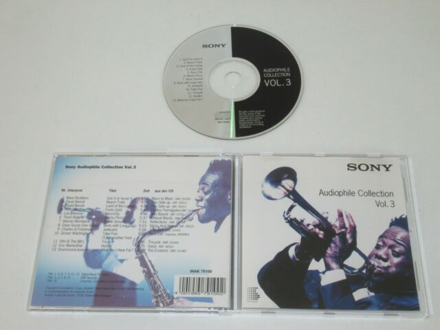 VARIOUS/SONY AUDIOPHILE COLLECTION VOL.3(INAK 79100) CD ALBUM