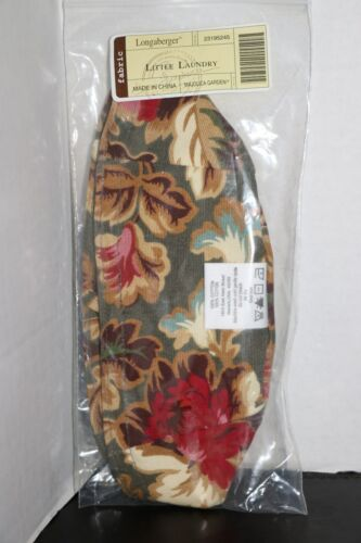 Longaberger Little Laundry Booking Liner Majolica Garden #23195245 New
