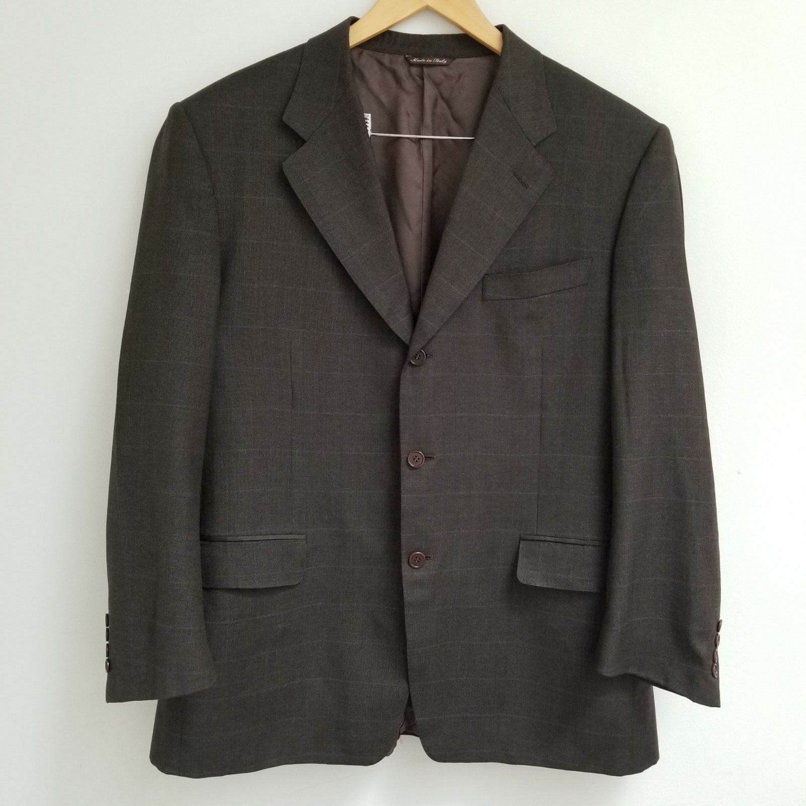 CANALI [Made for Harry pinkn] Brown with bluee Stripes Men Blazer and Pants.