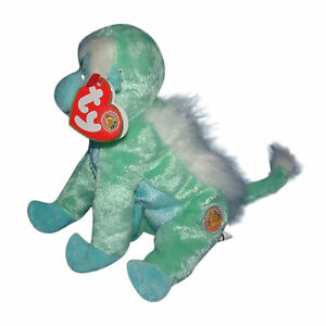 Ty Beanie Baby Zoomer - MWMT (Monkey BBOM 2006)