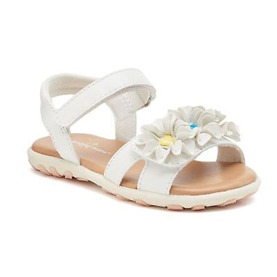 NEW Girls Toddlers JUMPING BEANS BARNETT METALLIC Sandals Fashion Comfort Shoes