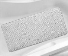 BELDRAY Extra Long Wide Cushioned Bath Shower Mat 91cm X 43cm Suction Non Slip