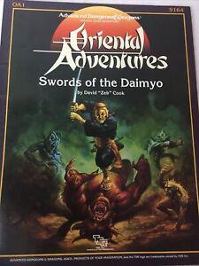 Swords-of-the-Daimyo-Module-OA1-Oriental-Adventures-1986-by-David-034-Zeb-034-Cook