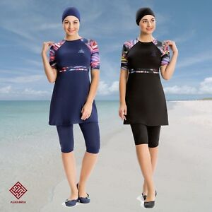 AlHamra-AL8151-Modest-Burkini-Swimwear-Swimsuit-Muslim-Islamic-3-piece-UK-10-18