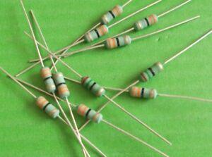 Resistor 33 R Ohms 2.5 Watt  Wirewound  33R Ohms 2.5 W Power x 5pcs OFFER/'s
