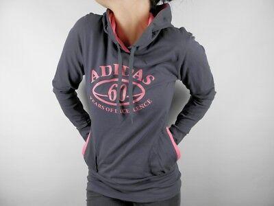 Bello Adidas Pl Ls Lond Long Tunica Con Cappuccio Giacca Hoodie Hoody Giacca Nuovo Tg. 38-mostra Il Titolo Originale