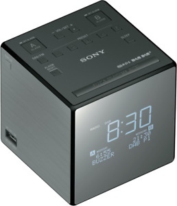 NEW Sony XDRC1DBP DAB Clock Radio