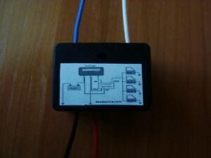 car dome interior light delay switch timer 1 to 25 sec 1a 12v