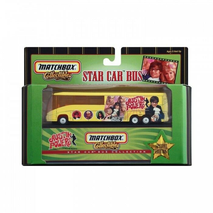 Matchbox Collectibles Austin Powers Star Car Bus 1999