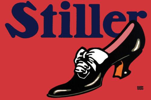 Vintage Decor POSTER.Stylish Graphics.STILLER.Great for Shoe Store 113