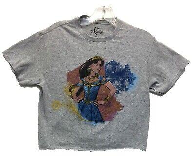 Disney Women/'s Ladies Girls Aladdin Jasmine Genie Crop top Primark BN UK S//M//L