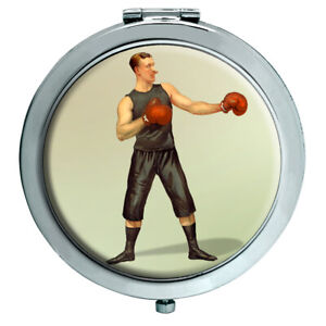 Boxing-Champion-Compact-Mirror