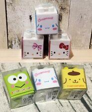 Hello Kitty Sanrio Cinnamoroll Pompompurin Kerokerokeroppi Eraser Toy Brick Cute