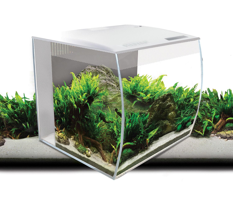 Fluval Flex Nano Aquarienset - Farbe  white - 34L - 35x33x33 cm