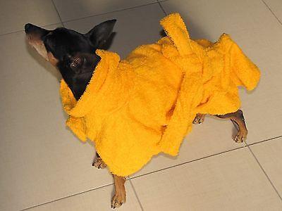 Accappatoio Per Cani In Cotone