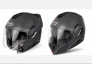 Casque Jet Airoh Rev Color Antracite L 59 60 Streetmotorbike Ebay