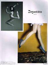 Publicité advertising 2010 Les Chaussures Repetto avec Marie Agnès Gillot