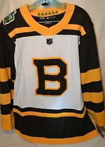 Details about (2019) Authentic Adidas NHL Boston Bruins Winter Classic Hockey Jersey Size 44