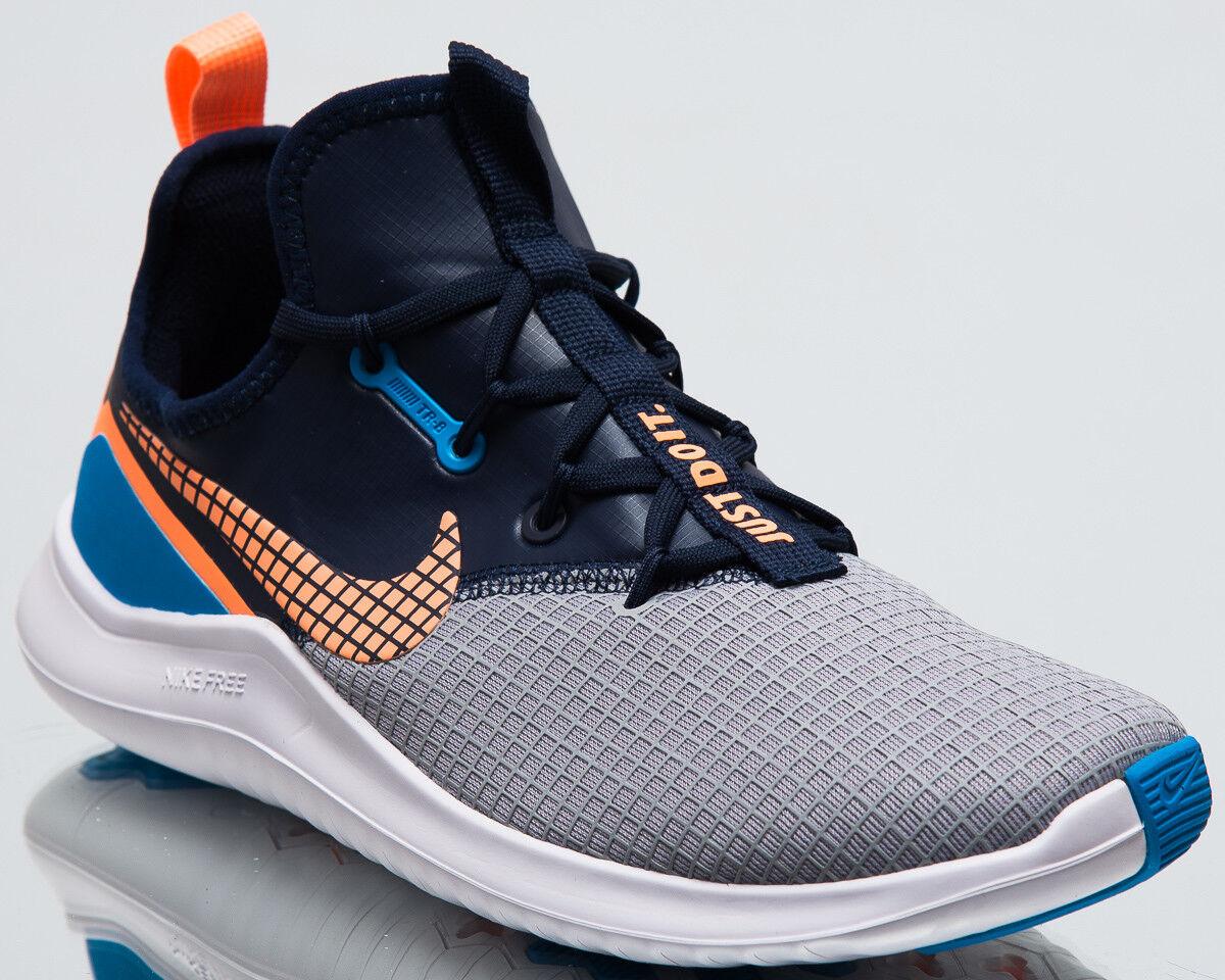 Nike Wmns Free TR 8 Neo femmesNew TrainingChaussures GrisOrange Sneakers AJ7681-008