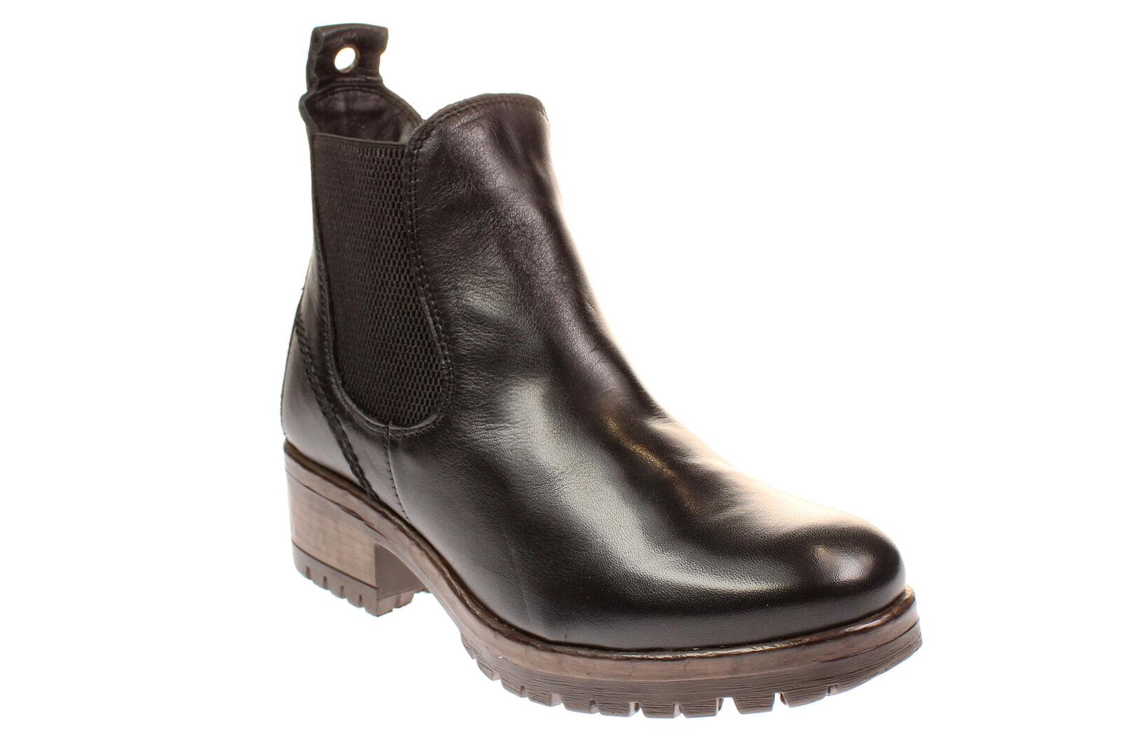 Maca Kitzbühel 2300-zapatos señora señora señora botas botas-negro 9a3276