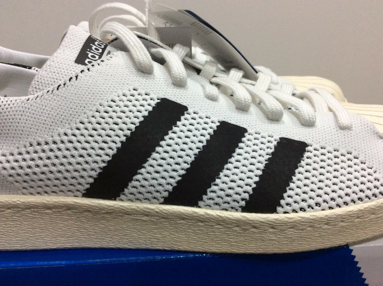 adidas superstar 80s primeknit Uk 10, brand New In Box