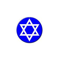Star Of David - Jewish - Metal Lapel Hat Pin Tie Tack Pinback