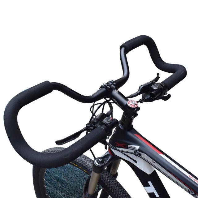TREKKING//HYBRID//COMFORT BICYCLE BIKE HANDLEBAR BAR BLACK