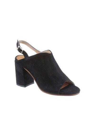 Sandalette Sandalette Sandalette von Marc O´Polo aus Veloursleder, Gr.5(38),6(39),7(41), dunkelblau aa62c3