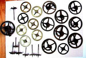 Site Officiel Lot Piece Cadrature Minuterie Comtoise Horloge Ancienne Pendel Morbier Uhr Clock Divers ModèLes RéCents