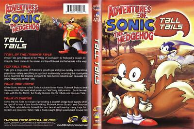 Adventures Of Sonic The Hedgehog Tall Tails Let S Race 2 Dvds To Choose Ebay