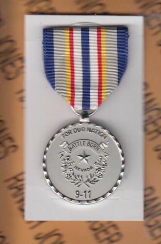 US Nevada War on Terrorism Medal 911 National Guard fullsized award