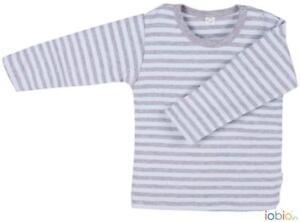 Bambini Ragazzi Cotone Organico Grigio Azzurro Nero Verde T-Shirt Maglietta