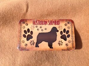 I LOVE MY PYRENEES DOG PAWS Metal License Plate Frame Tag Holder Two Holes