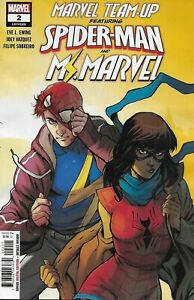 Spider-Man-Ms-Marvel-Team-Up-Comic-Issue-2-Modern-Age-First-Print-2019