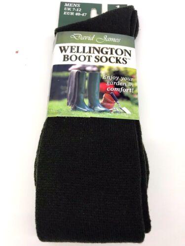 Men Fleece Warmer Dry Warm Winter Wellington Welly Boot Socks Wellie Liner 7-12