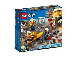LEGO-City-60184-Bergbauteam-NEU-OVP
