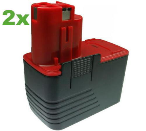 2x Akku 3000mAh 14,4V für Bosch 2607335160 2607335246 2607335252 2610995883