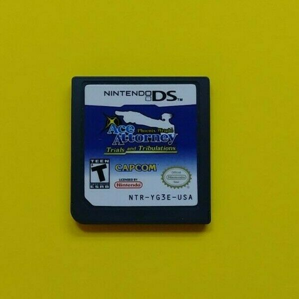 Phoenix Wright: Ace Attorney Trials and Tribulations (NDS, 2007) Cart Only 1